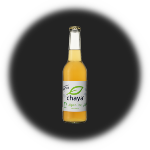 Ice Tea Alpen-Tee swiss herbs Chaya, Glas, 33 cl