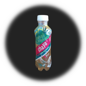 Ice Tea Swiss Cannabis Chaya, low calories, PET, 5 dl