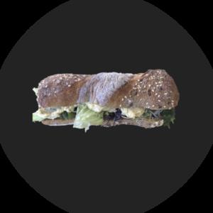 Sandwich mit Humus