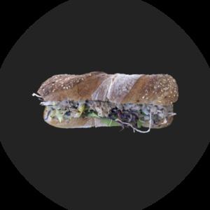 Sandwich mit Thonmousse