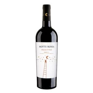 Wein Notte Rossa Primitivo Salento, Glas, 7.5 dl